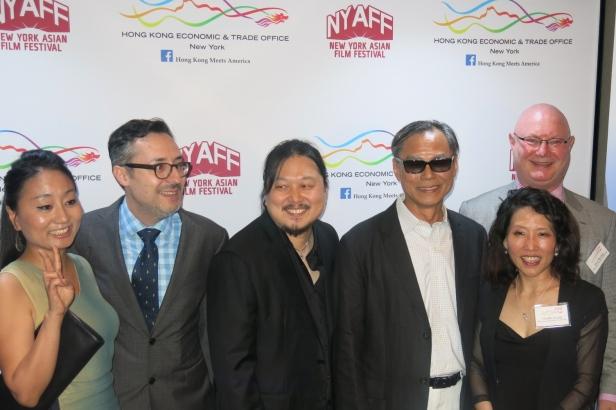 Ringo Lam Group Photo NYAFF 2015