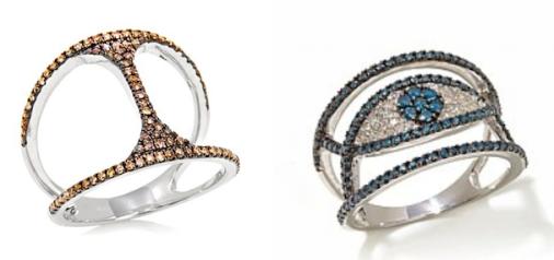 Carol Brodie Diamond Rings