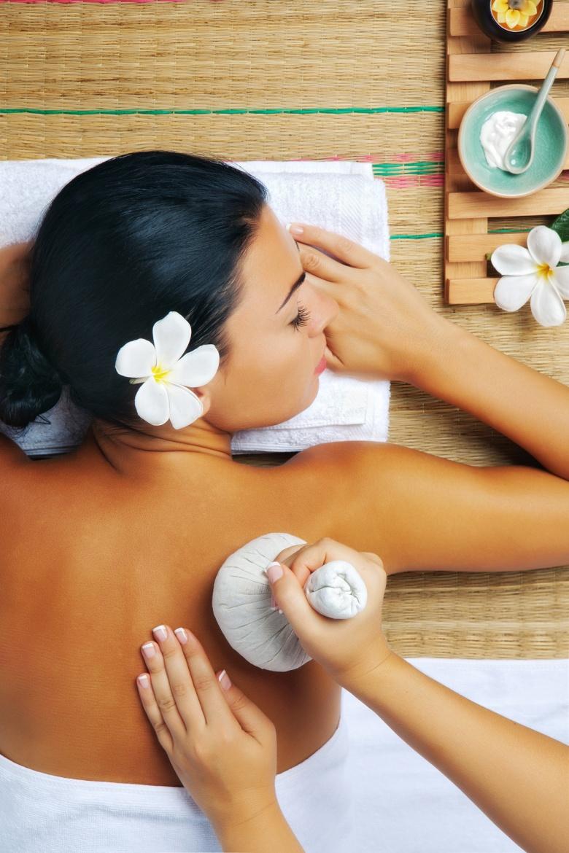 woman spa