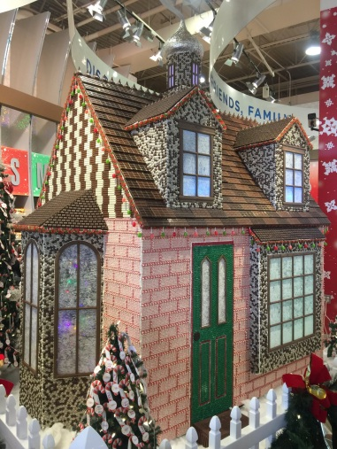 A house made entirely of hershey's candies!