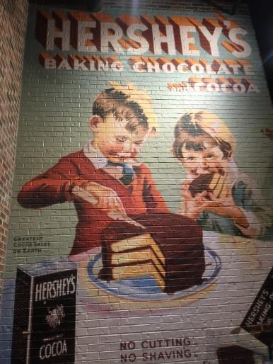 Vintage Hershey's poster.